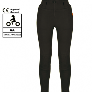MotoGirl Kevlar Zip Leggings